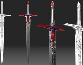Optimus Prime Sword Transformers The Last Knight 3D