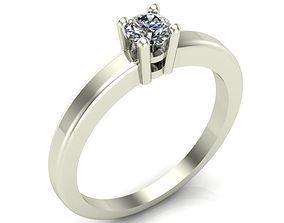 Engagement ring jewel 3D print model