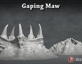 Gaping Maw - 3D Printable Monster- 2 Poses