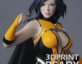 3D printable model Female Superhero