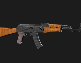 war AK-74 3D model