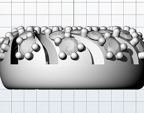 Pendant twist 3D print model