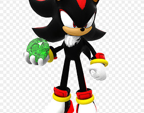 3D print model Shadow the Hedgehog boom