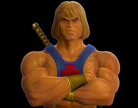 3D printable model He-Man - Bust