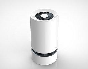 Air cleaner 3d rendering