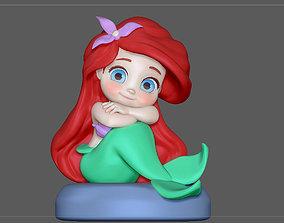 3D print model ARIEL BABY LITTLE MERMAID PRINCESS DISNEY 1