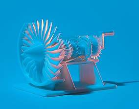 Build Your Own Jet Engine 3D printable model