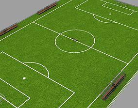 Soccer Field basketball 3D