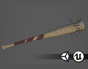 3D asset Apocalyptic Baseball Bat - PBR and Game