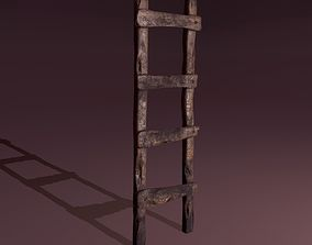 3D model Old Dirty Ladder