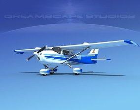 Cessna 172 Skyhawk STOL V02 3D model