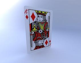3D King of Diamonds