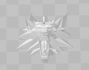 3D printing model of the medallion The Witcher