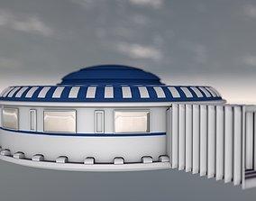 space building 3D Model