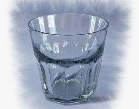 3D model kitchenware Glass