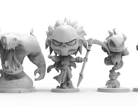 Dediore Consort of the Dead 3D printable model