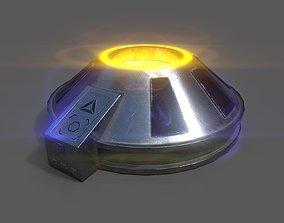 Gravity device 3D asset