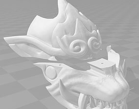 3D printable model Odogaron mask