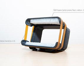 3D printable model Adaptable Flash Grid base trial