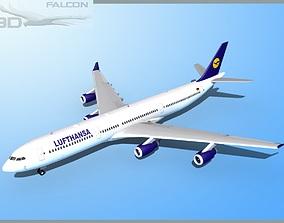 rigged Falcon3D A340-600 Lufthansa