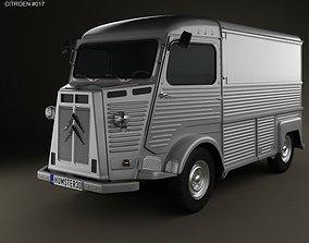 3D Citroen H Van 1980