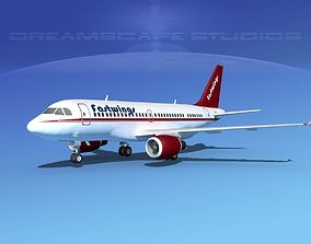 3D model Airbus A319 Fastwings