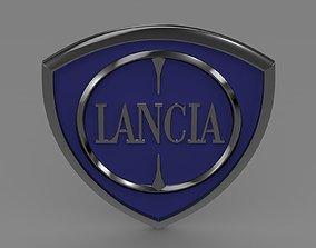 Lancia logotype 3D