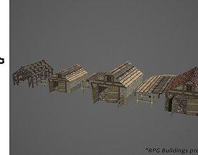 3D asset Barn 1