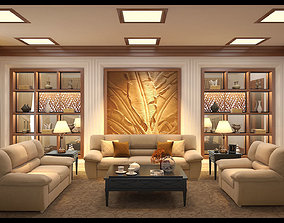 Classical livingroom 3D