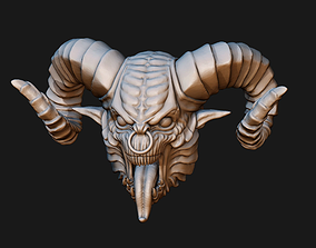 3D printable model Demon Head