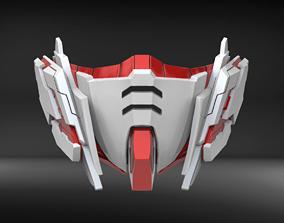 Unicorn Custom Mask Fan Art 3D printable model