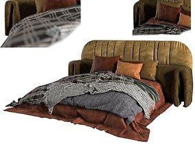 blanket Adairs bed 3D model