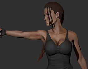 Lara Croft 3D Print
