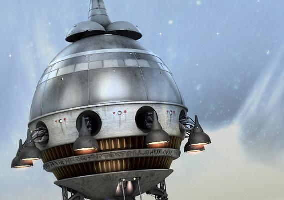 E.T. The Extra Terrestrial Starship