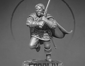 3D printable model Human Rogue fighter