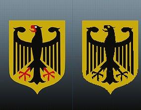 Germany National Emblem 3D