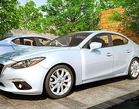 MAZDA 3 SEDAN CAR4ARCH VOL1 3D