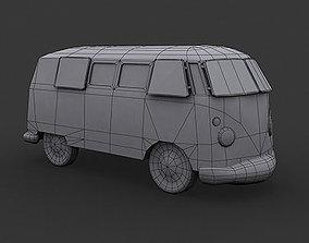 3D VW Kombi