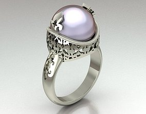 3D printable model Traditional ring for women