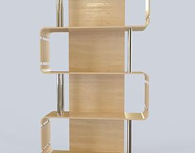 3D model Shelf Modern