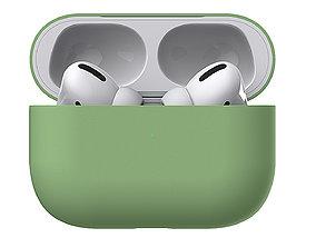 Apple AirPods Pro case 3D model phone