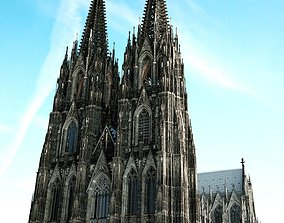 3D Cologne Cathedral - with full interior