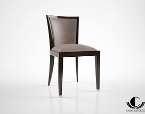 Cygal Art Deco ZST001 chair 3D