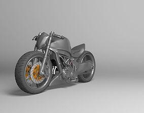 Kawasaki Ninja Street Fighter 3D model sbk