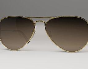 3D asset Sun glasses model