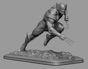 Wolverine for 3D print figurines