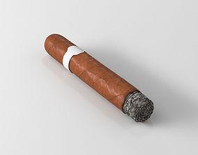 3D model Cigar lit