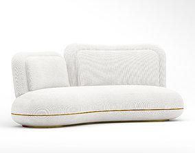 3D model SE oshun sofa with oshun daybed and oshun