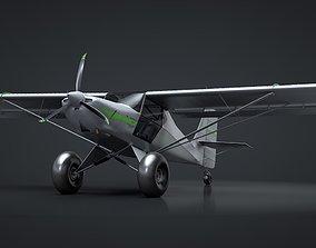 3D model Kit Fox S7 STI Titan C4D Rigged