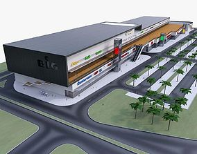 Shopping Mall 05 3D model